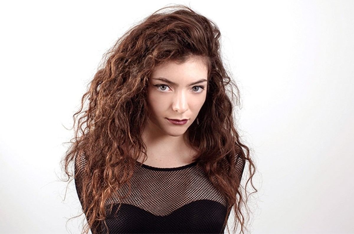 Lorde, aka Ella Yelich-O'Connor