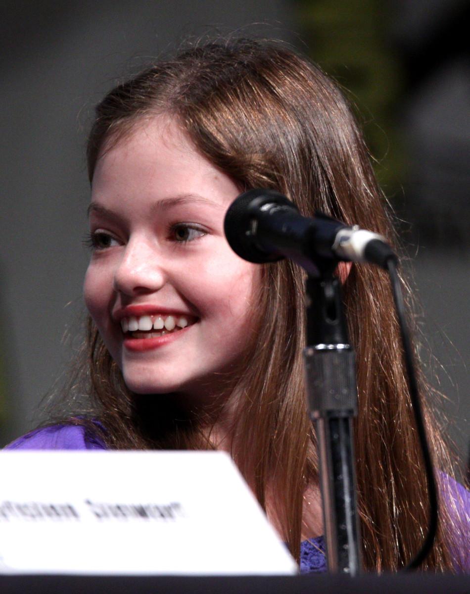 "Mackenzie Foy starred as Renesmee, Bella's daughter, in ""Twilight."""