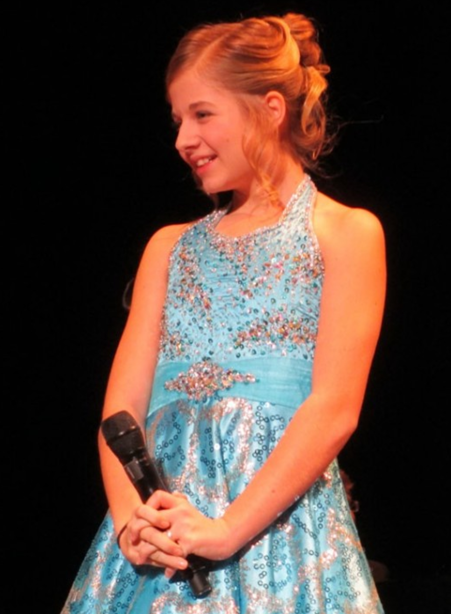 Jackie is not only an unbelievable performer and talented young lady, but she has a sweet smile as well!