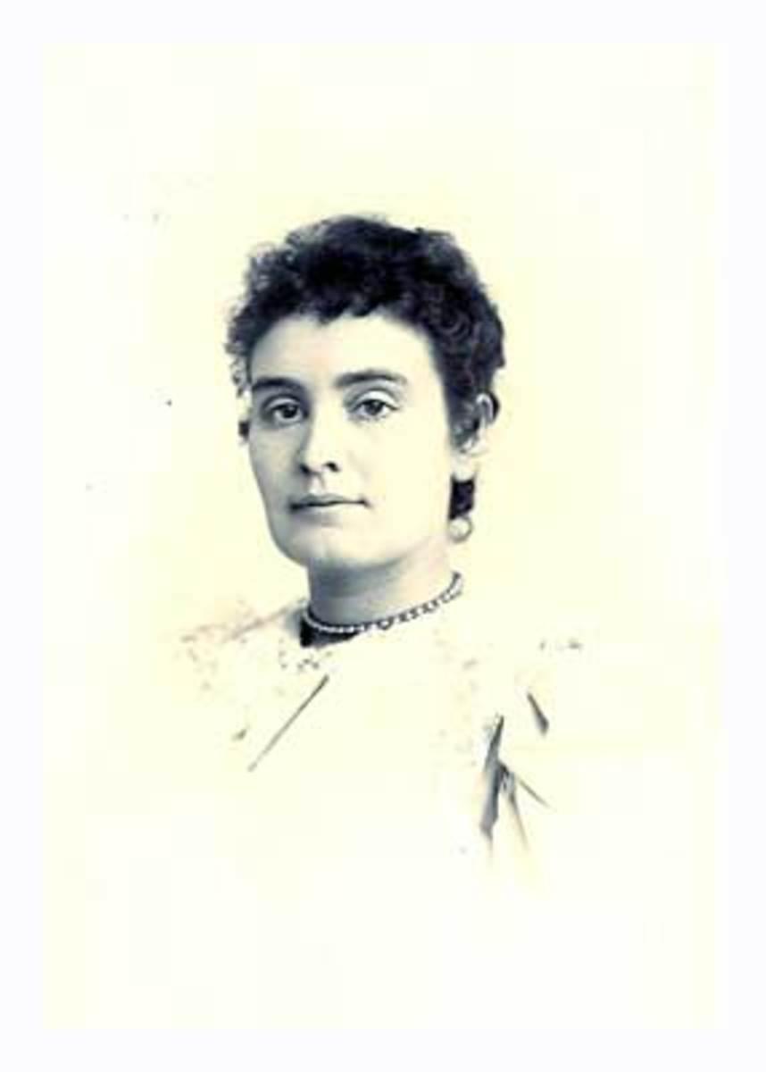 Young Anne Sullivan the incredible teacher of Helen Keller.