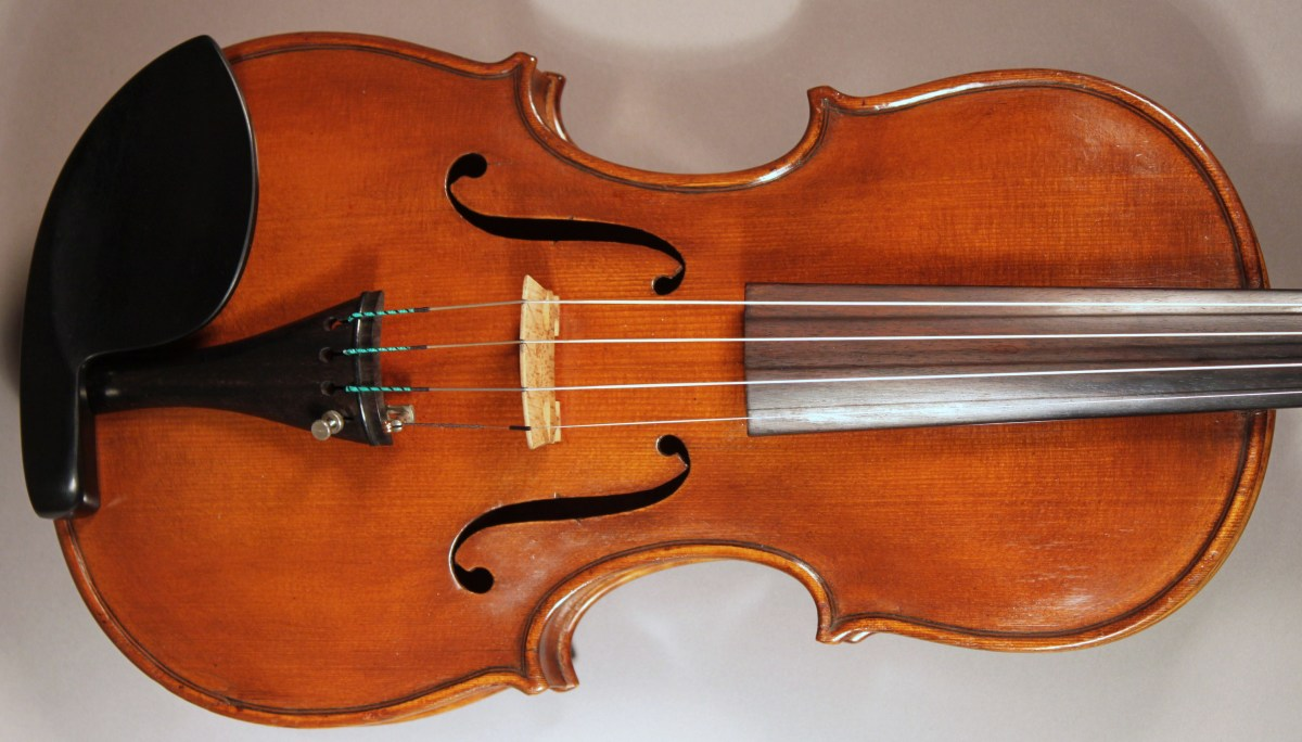 A new Italian violin will cost anywhere upwards from $10,000, this 1950s Egidia Bizzi many times that.