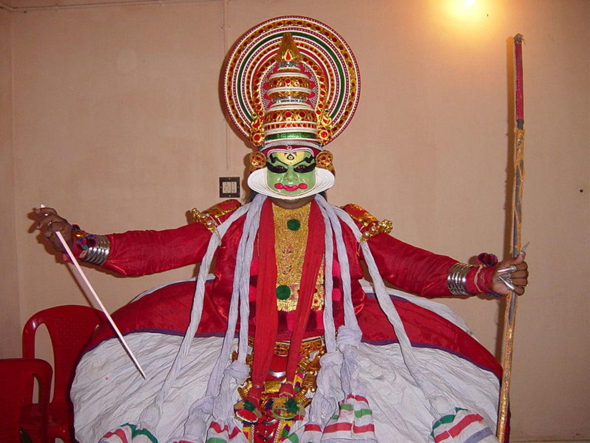 Kathakali_-_pacha_vesham