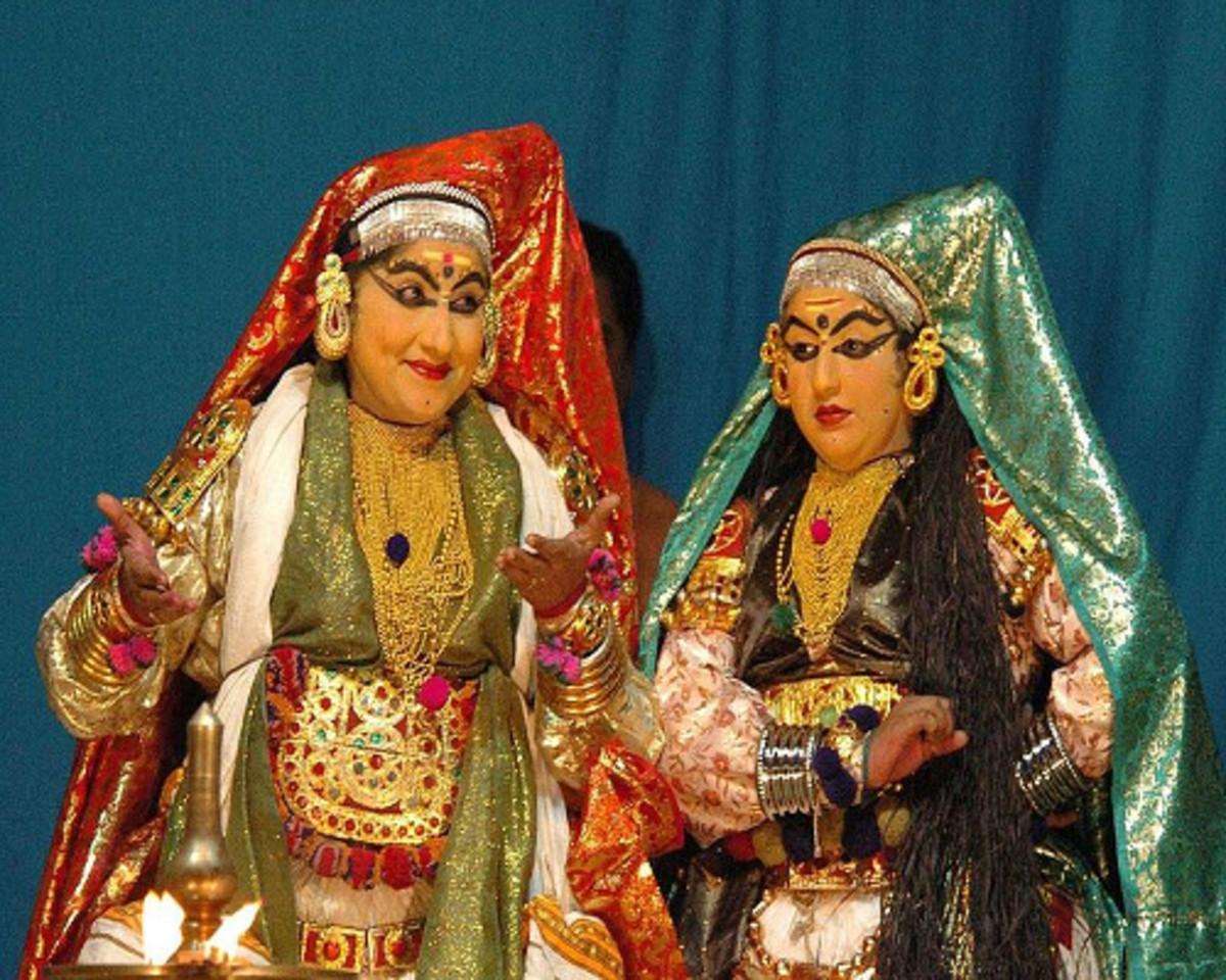 Women Characters in Kathakali