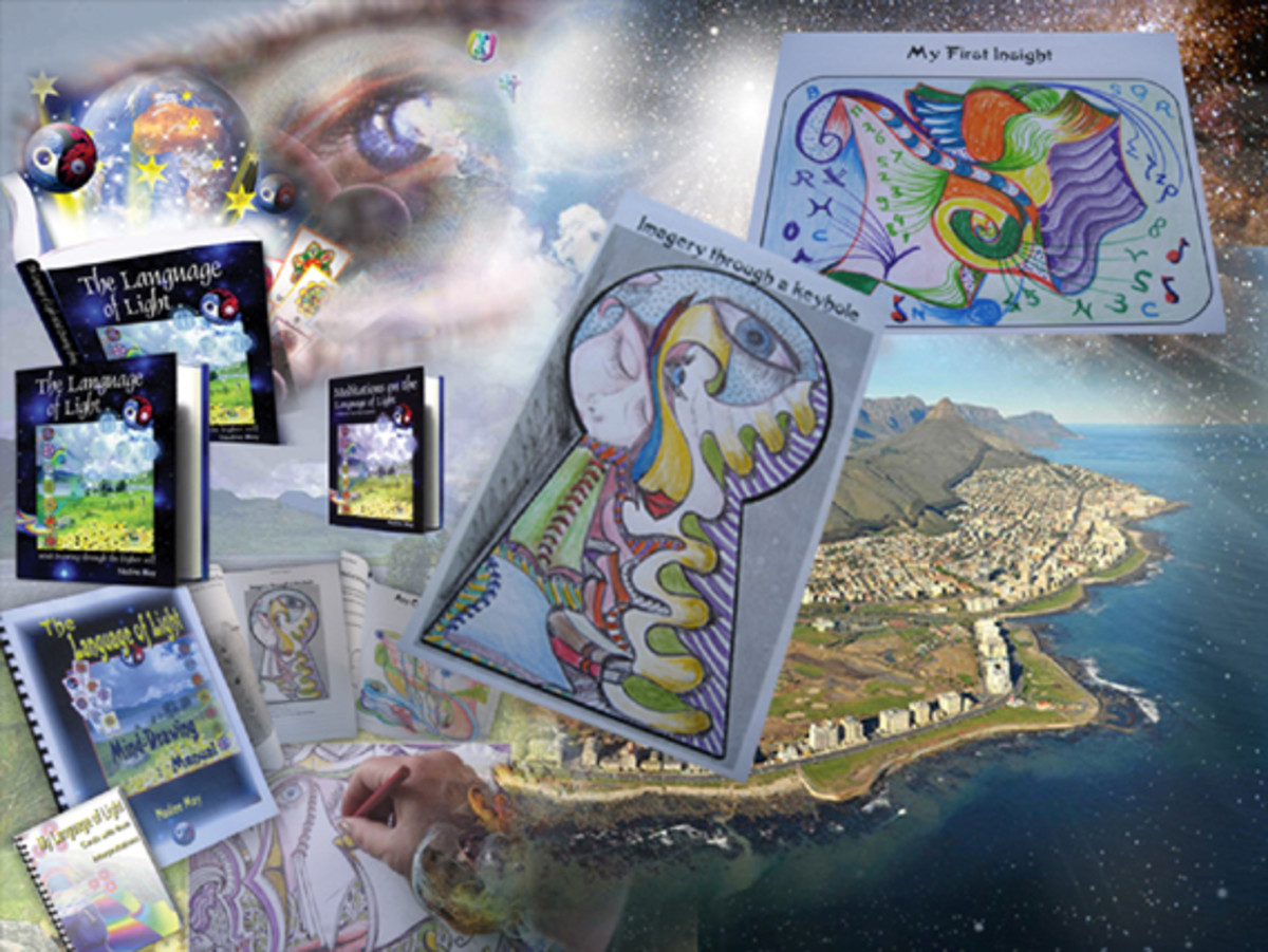 Mind doodling through the higher self