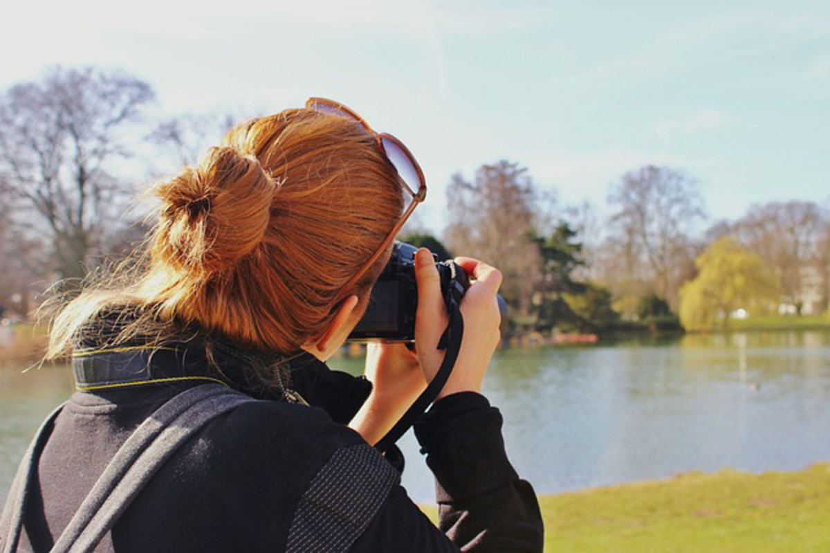 Taking a photo of a landscape can be essential to painting landscapes.