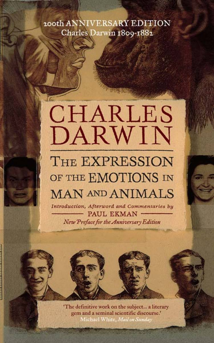 Darwin's 'The Expressions of the Emotions in Man and Animals' first published by John Murray in 1872