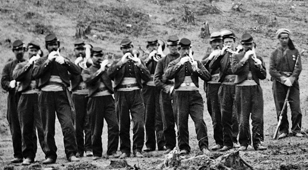 A Regimental Band for a Zouave unit