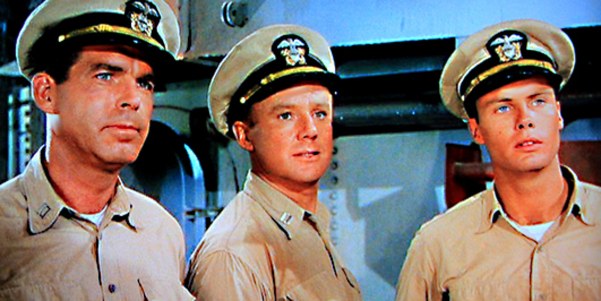Lieutenants Keefer and Maryk and Ensign Keith