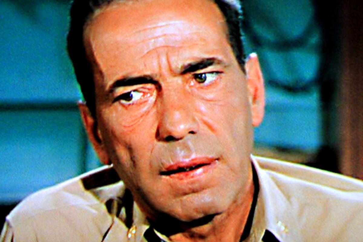 Humphrey Bogart plays Captain Philip Queeg