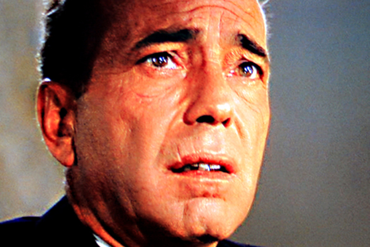 Captain Queeg faces the truth that he is now a man to be pitied rather than exonerated