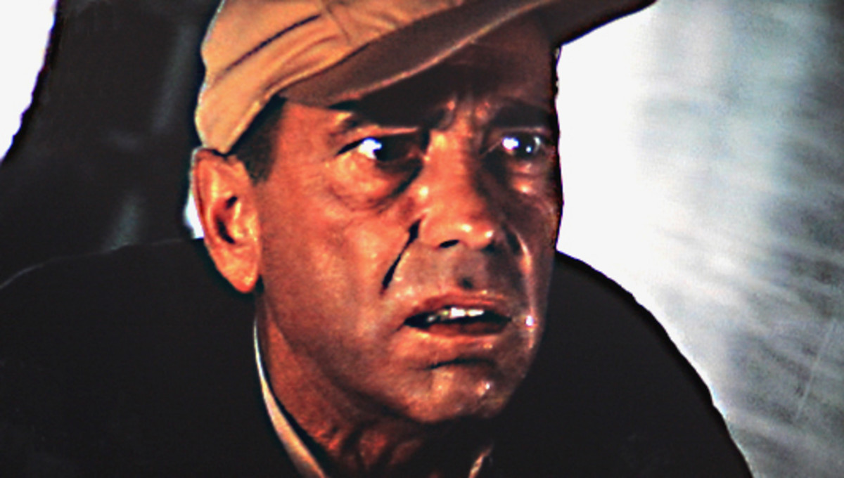 A man under pressure. Captain Queeg begins to panic