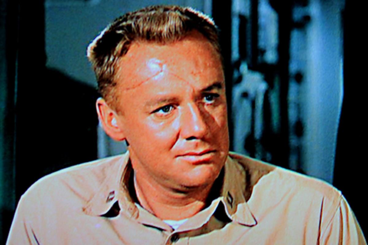 Van Johnson plays Lieutenant Steve Maryk