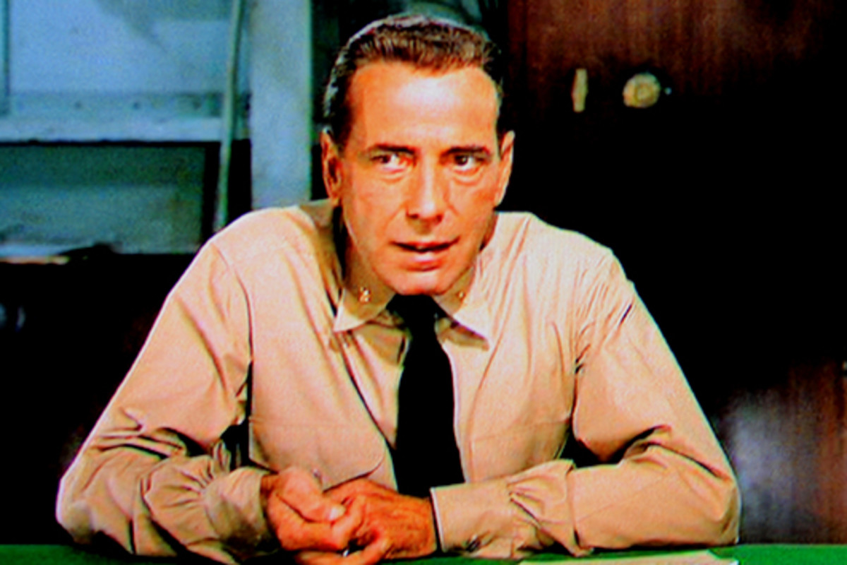 But soon Captain DeVriess is replaced by a new disciplinarian leader - Phillip Francis Queeg - who briefly finds favour with Keith