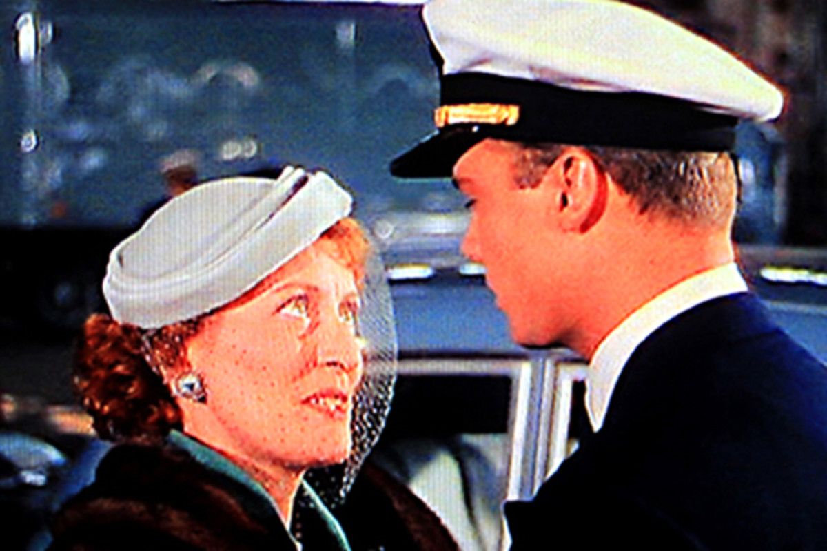 Mrs Keith says goodbye to her son as he prepares to embark on the U.S.S Caine, and a series of unexpected challenges