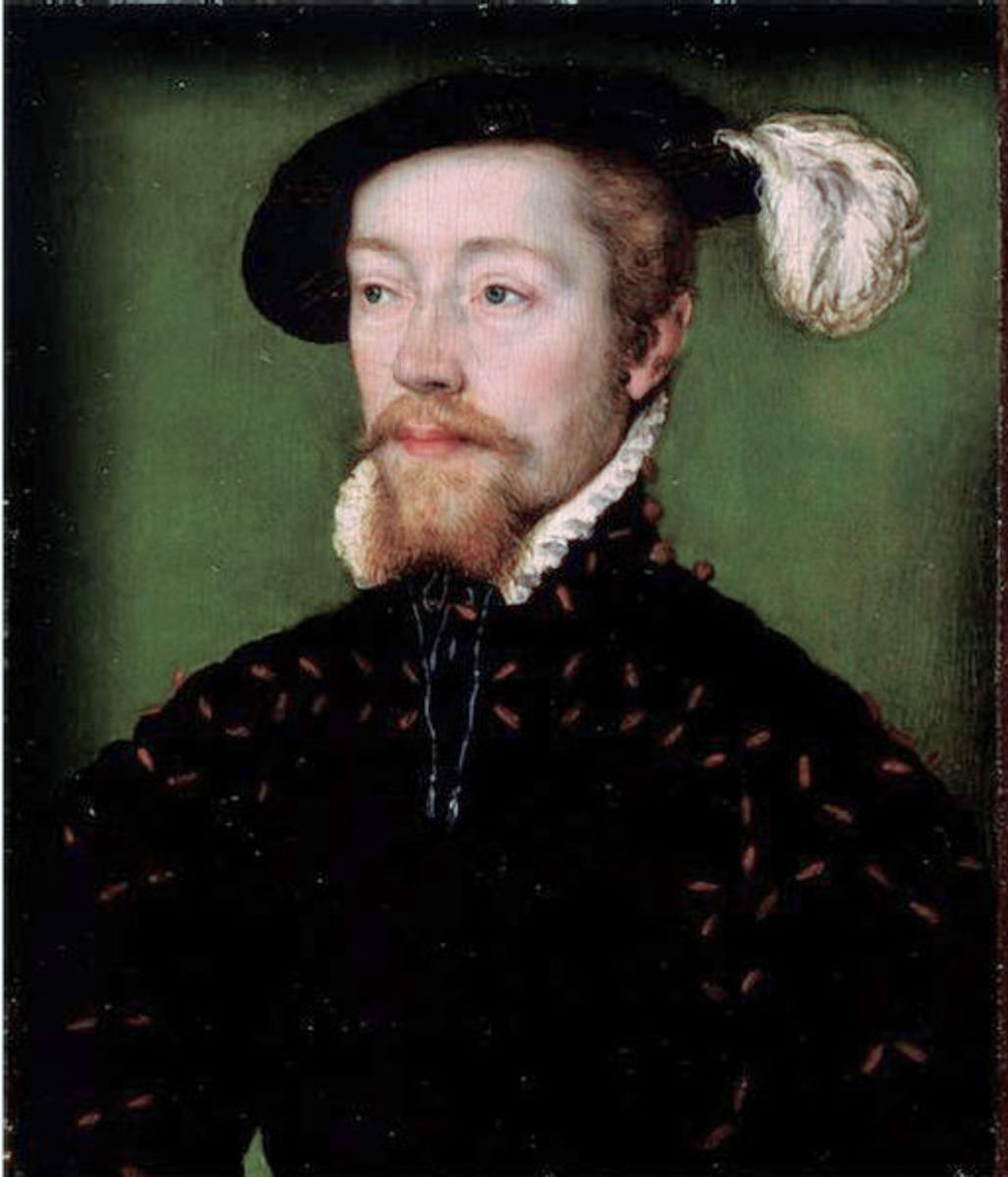 James V was Margaret Tudor's only son who survived childhood