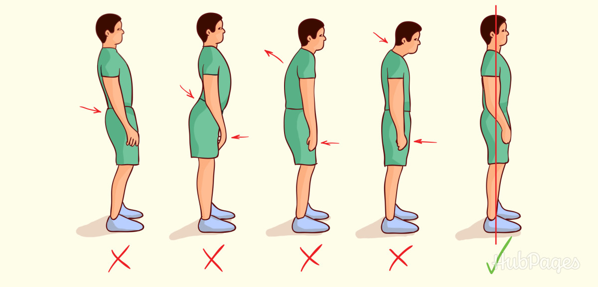 Good posture will help you grow taller.