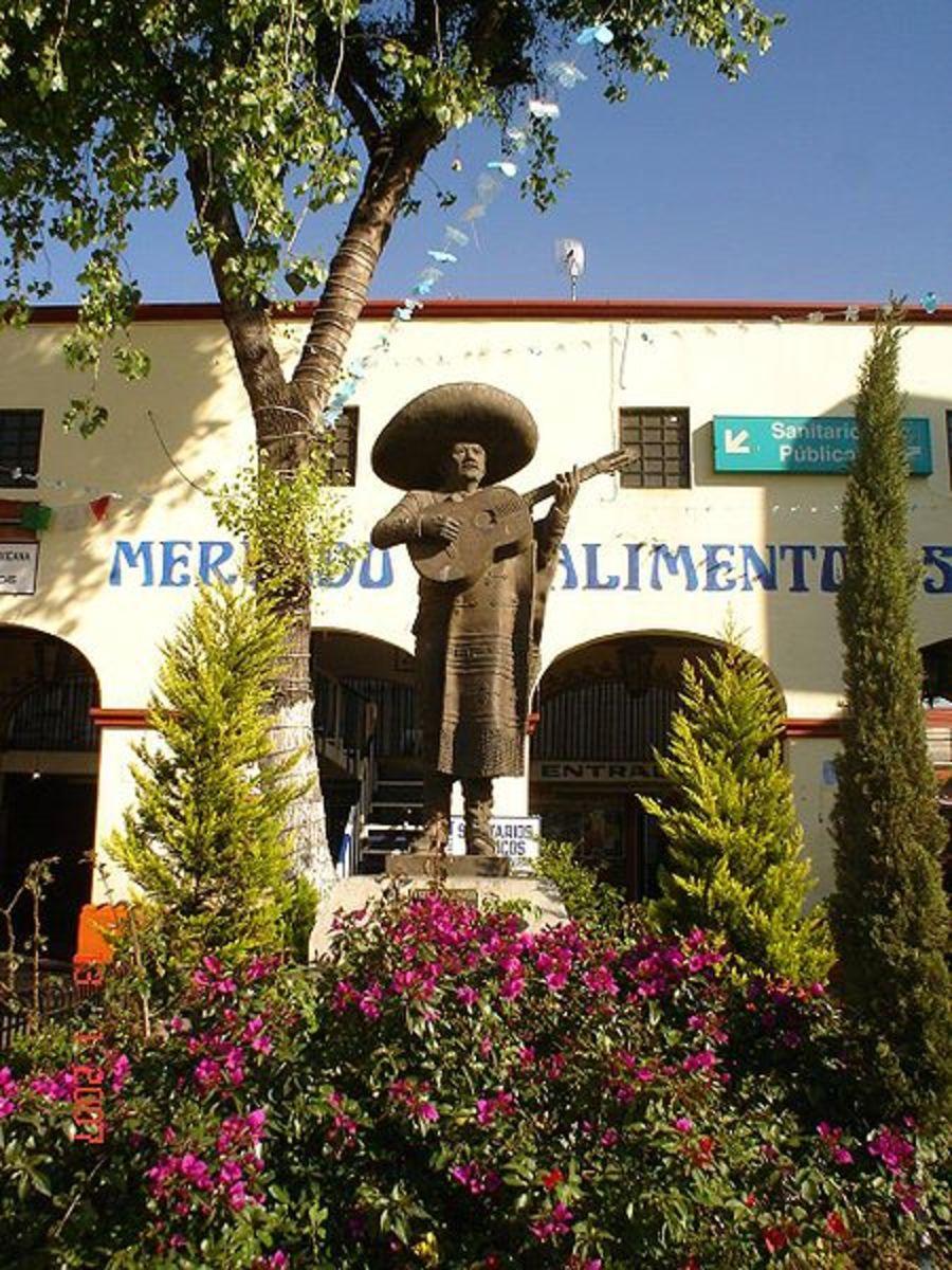 Plaza Garibaldi in Mexico City the center of mariachi music today.