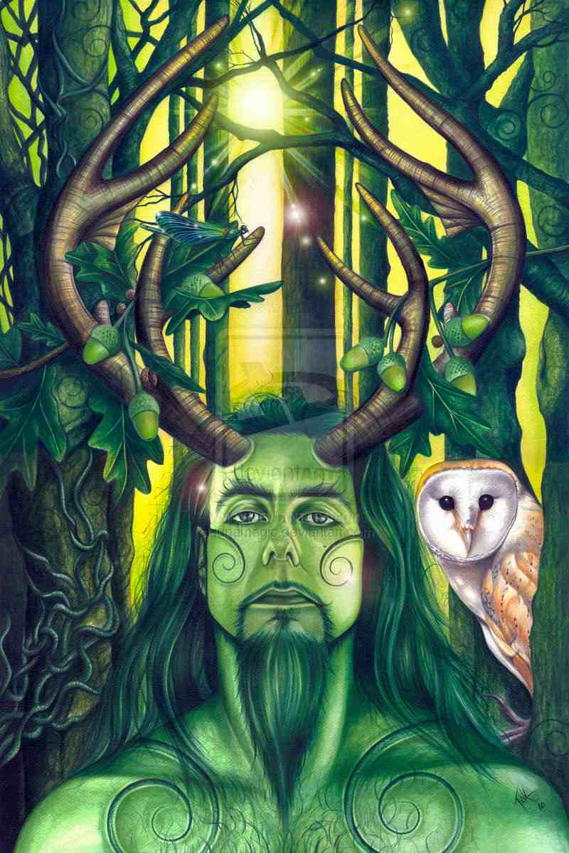 Herne the Hunter a myth from Englands past.