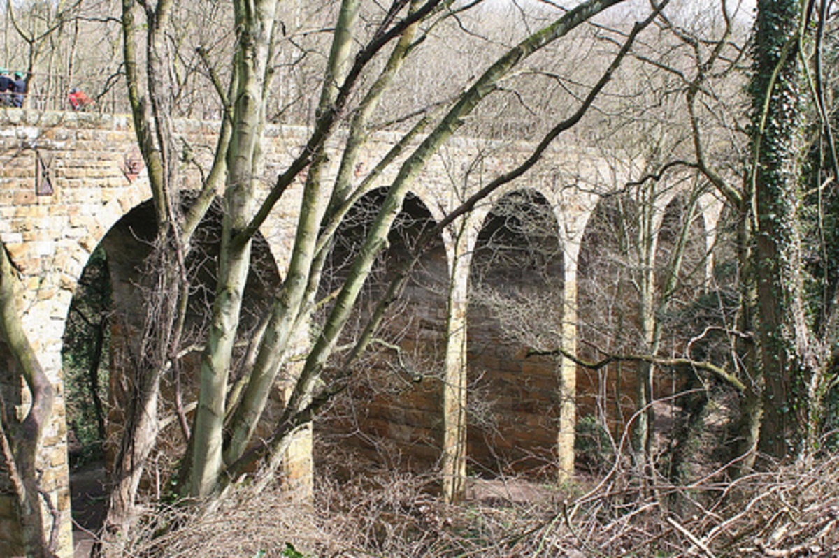 This is Waterfall Viaduct in a more recent view - the structure is listed, i.e., historic structure