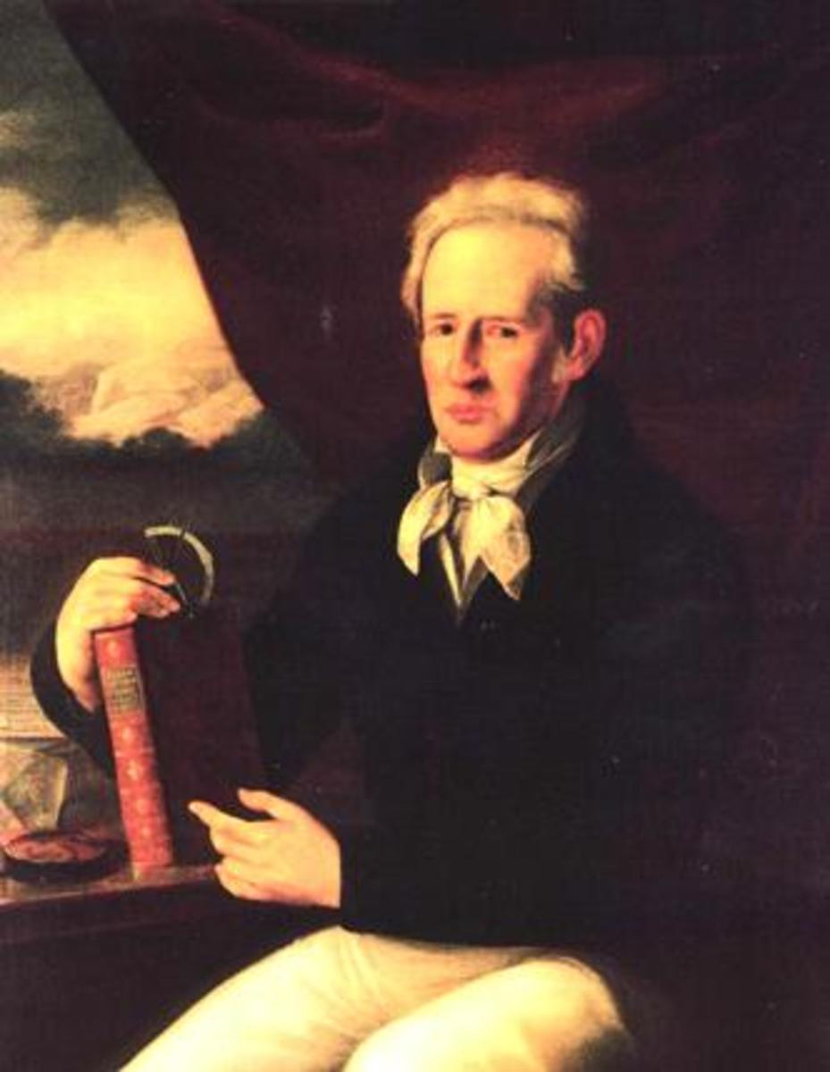 Portrait of Andrés Manuel del Río (1764–1849), Spanish-Mexican geologist and chemist.