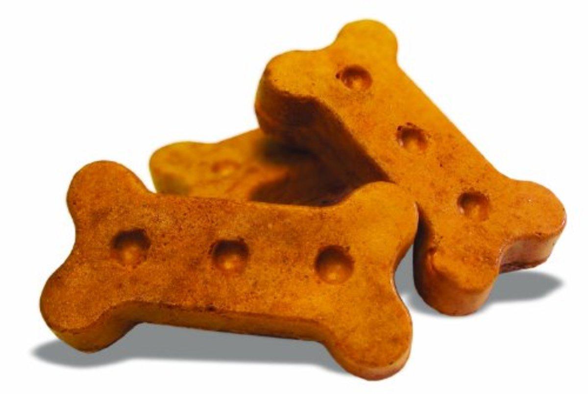 Peanut butter flavor biscuits.
