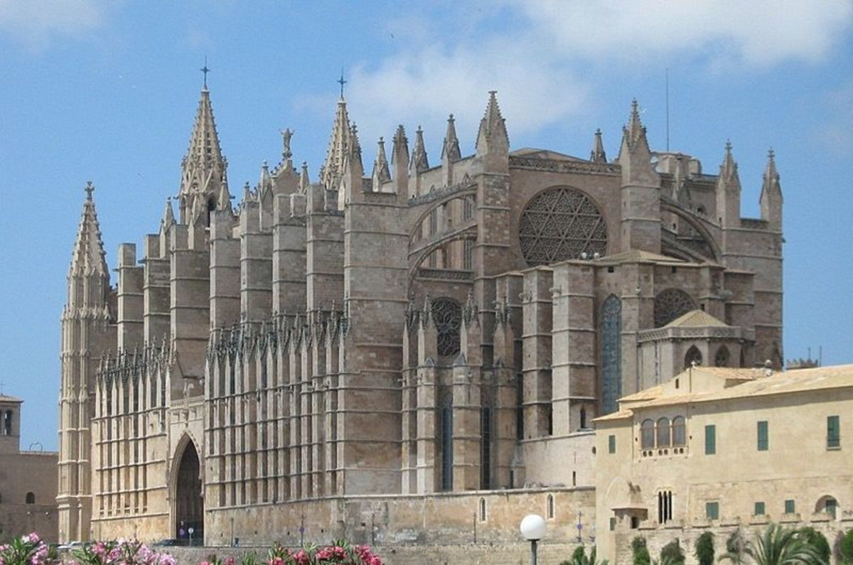 Le Seu Cathedral in Palma, Mallorca.