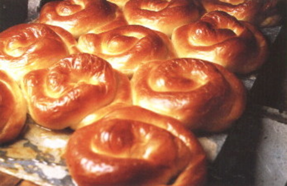 Ensaimada pastry rolls made and eaten on the Balearic Islands.