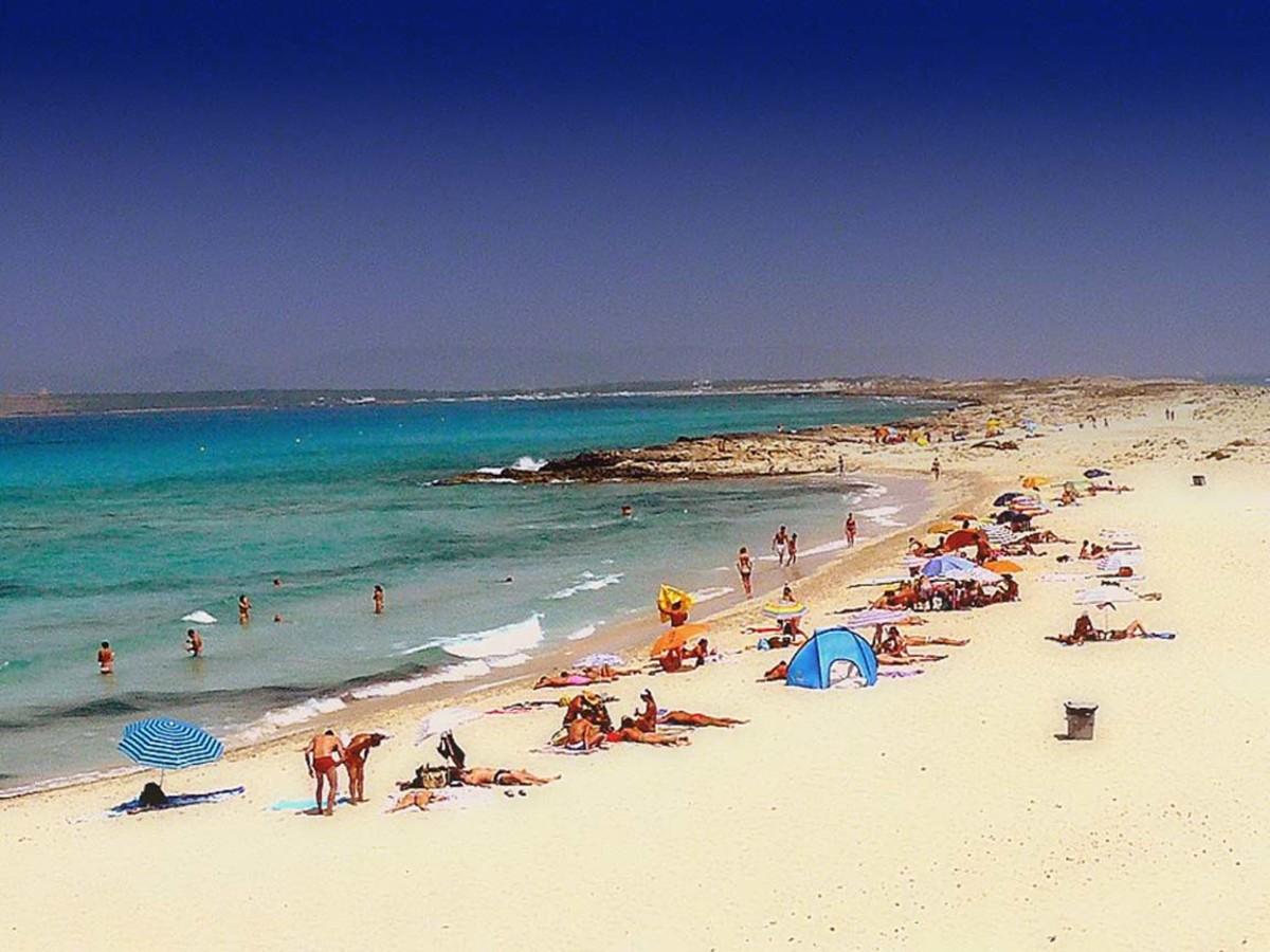 Formentera beach.
