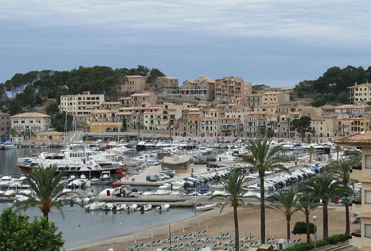 Port de Soller, Mallorca, Spain.