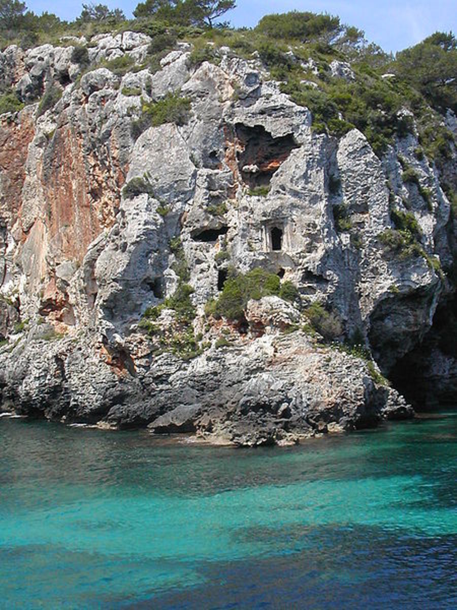 Cales Coves - beautiful coves and caves to discover in Menorca.