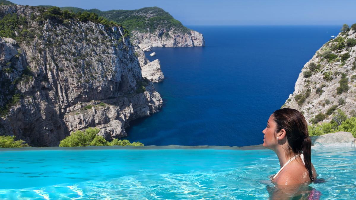 Hacienda Naxamena resort on the island of Ibiza in the Balearic Islands