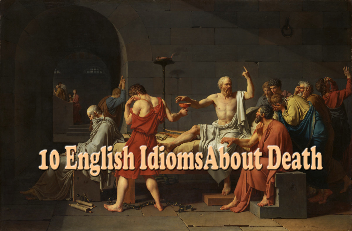 How to Improve Your English - 10 Idioms About Death