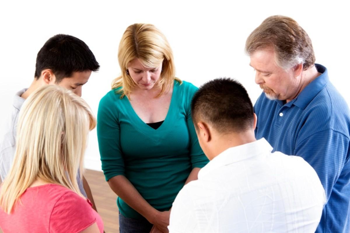 Intercessory prayer meeting.