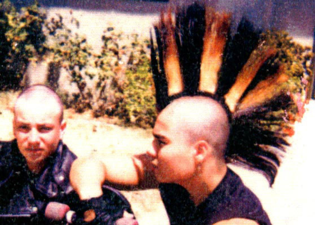 80s Punk Fashion: Mohawk/Mohican