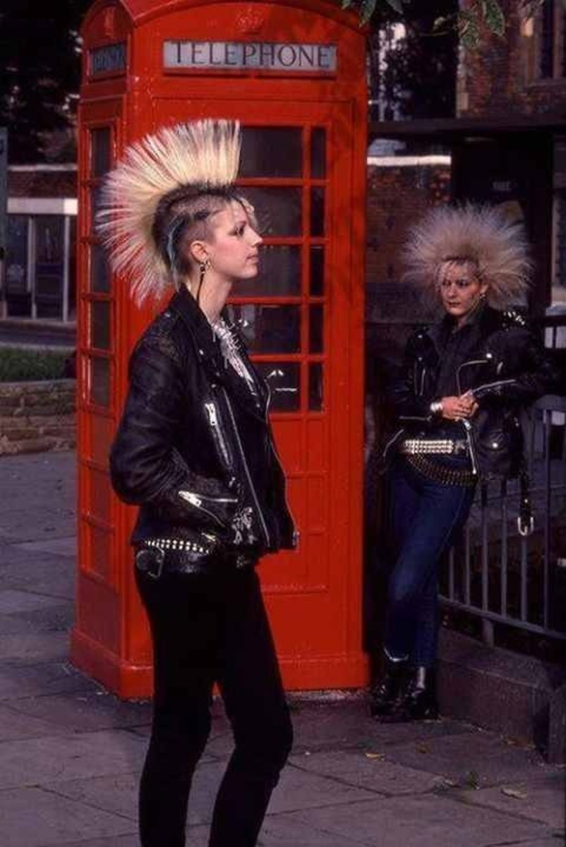 British Punk Girls