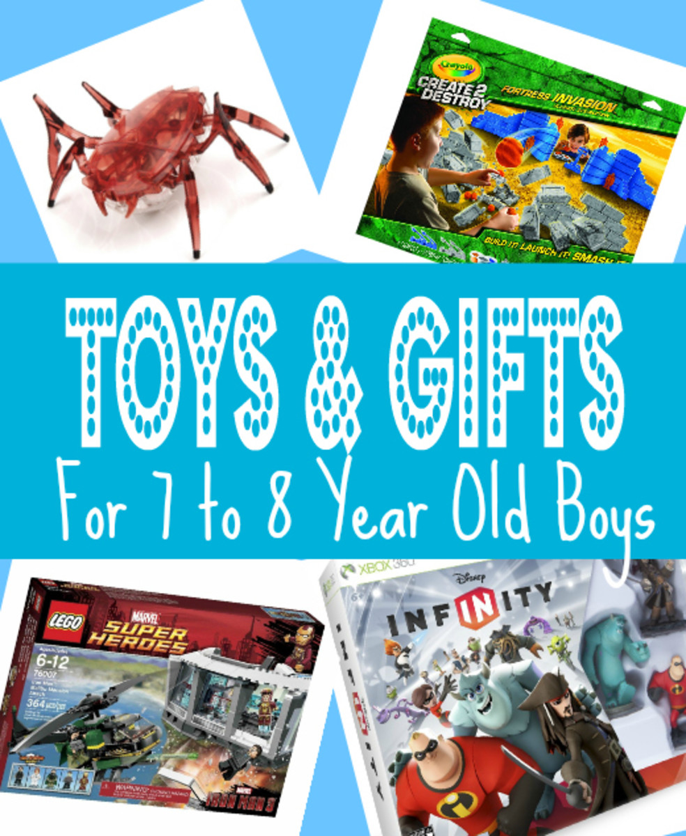 Top Toys & Gifts For 7 to 8 Year Old Boys