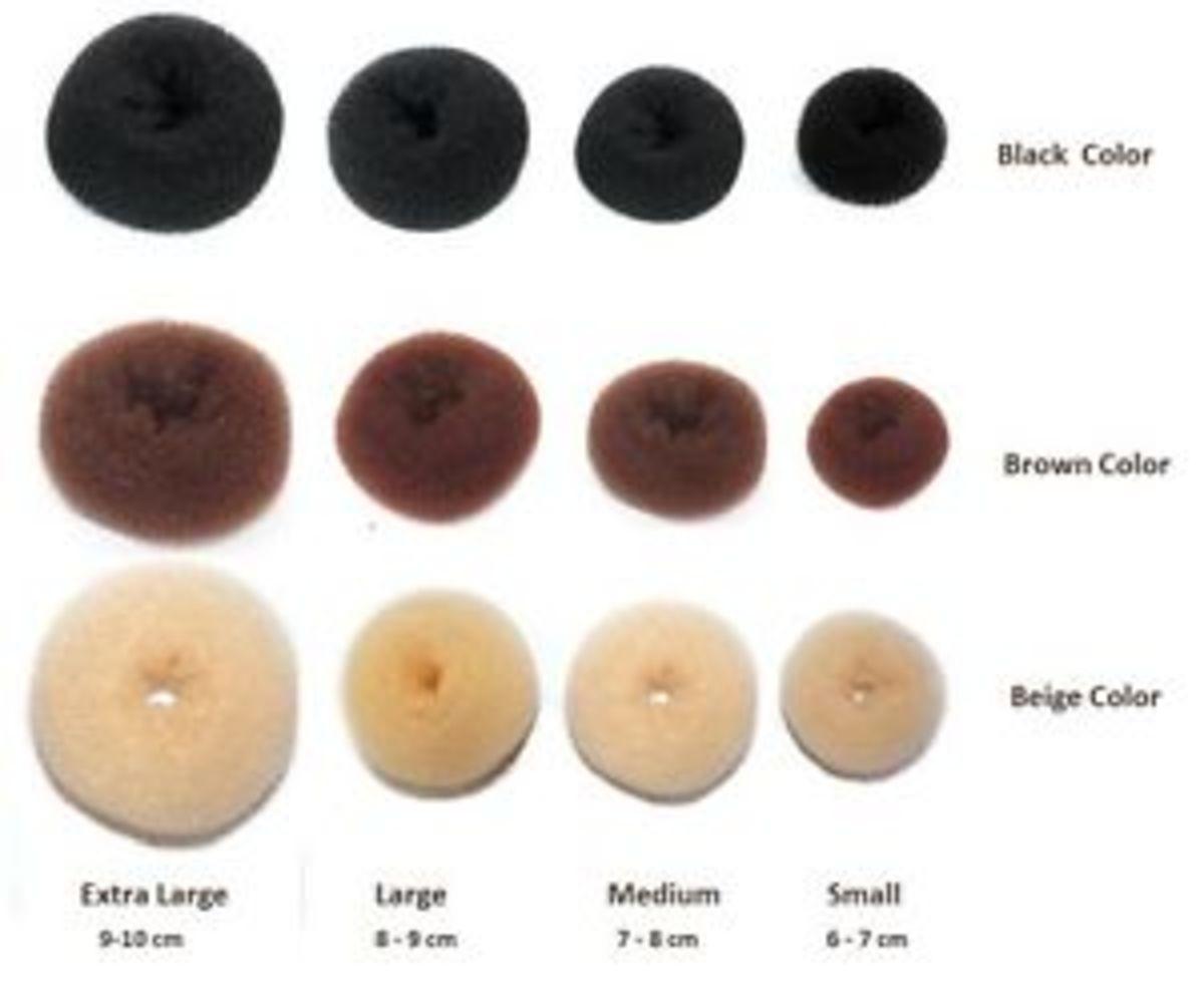 hair doughnuts
