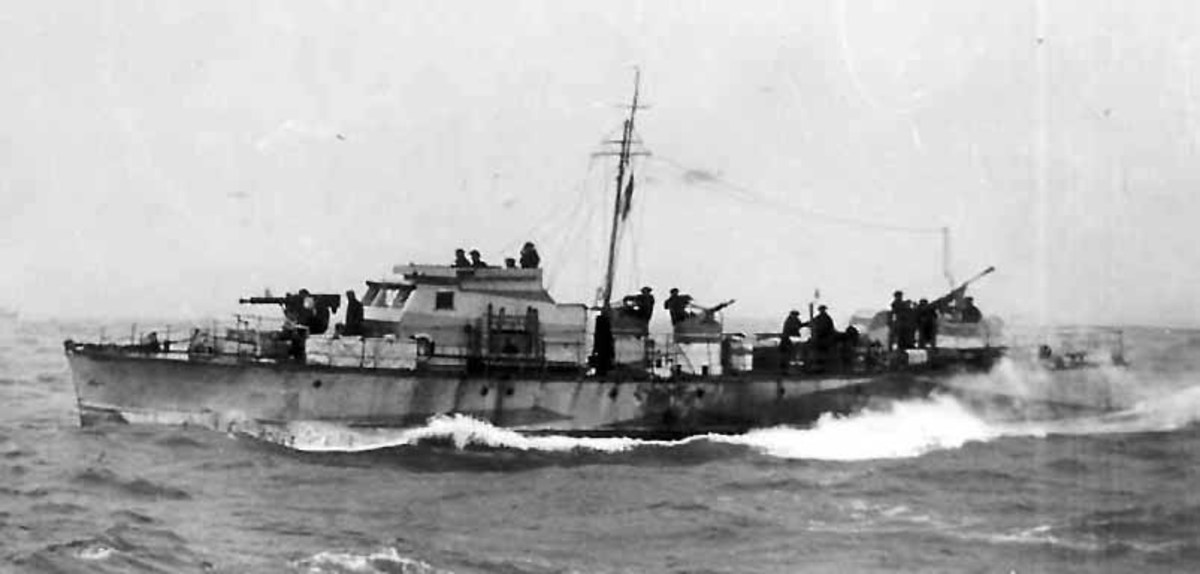 MGB314 Fairmile type C motor launch