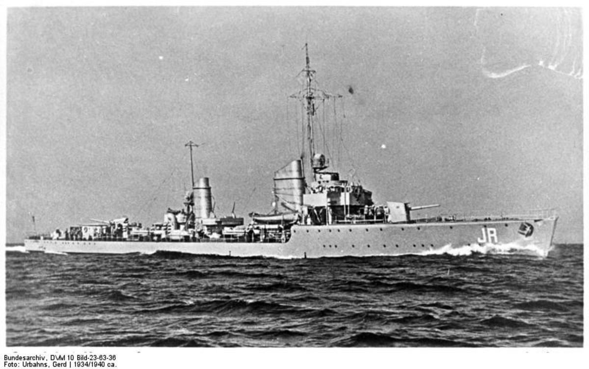 German torpedo boat KMS Jaguar