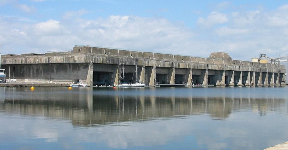 U-Boat pens St Nazaire