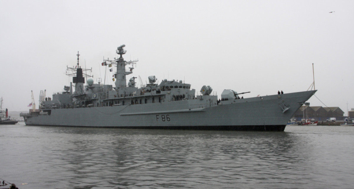 HMS Campbeltown Type 22 frigate