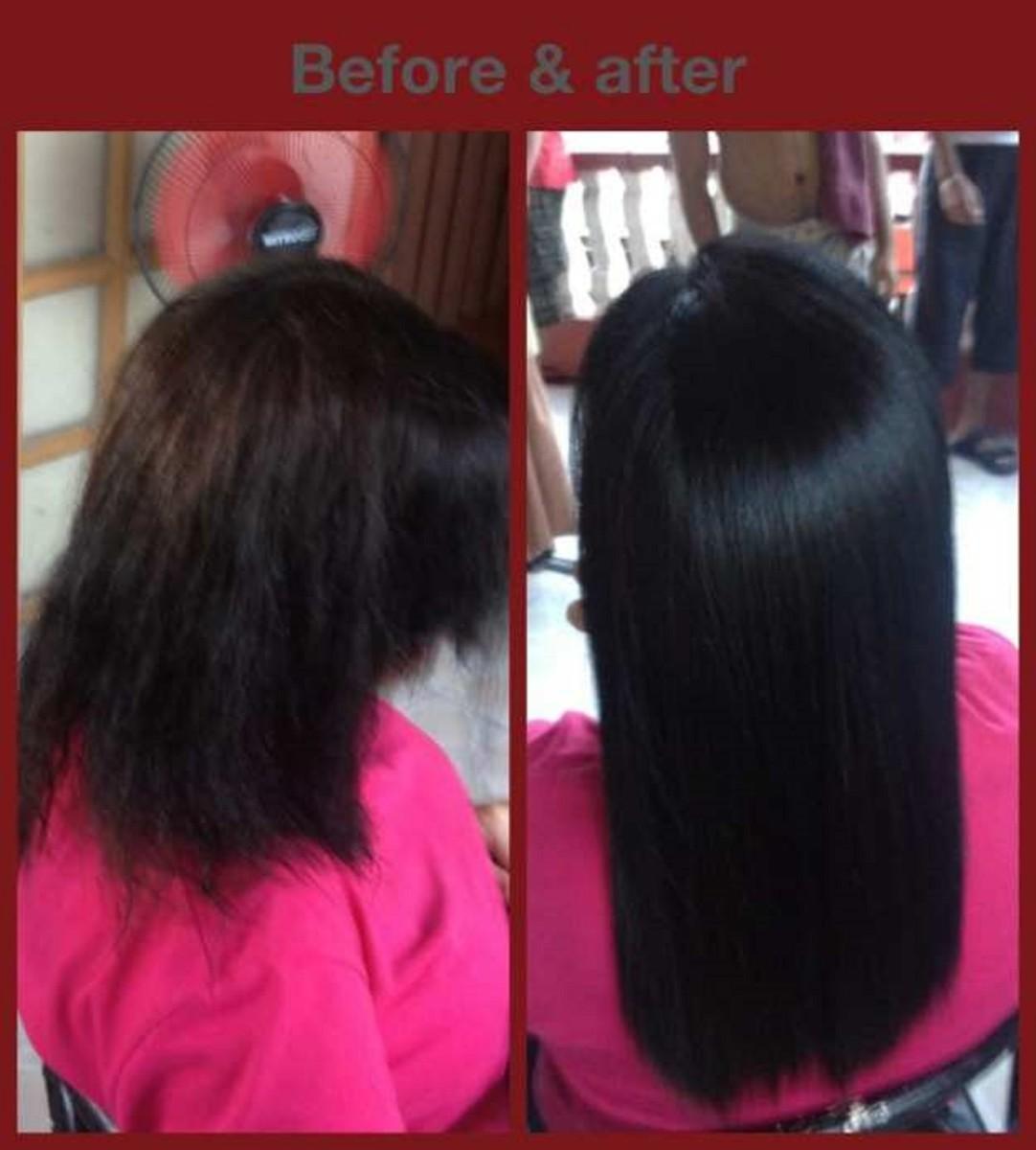 Hair Rebond With Cellophane Treatment The Best Hair
