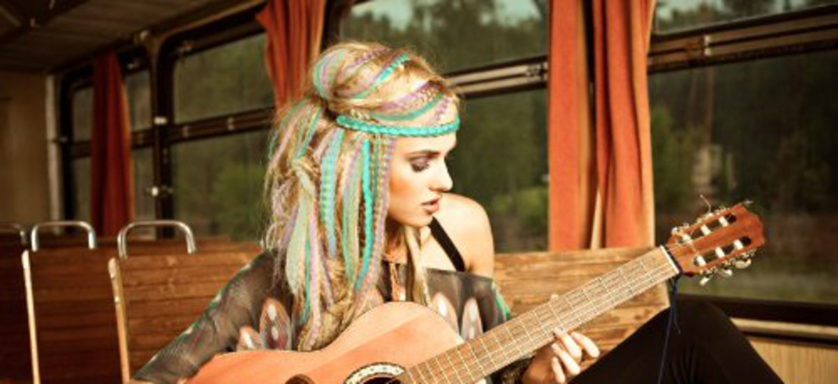 Making Gorgeous Locks With Hair Chalk