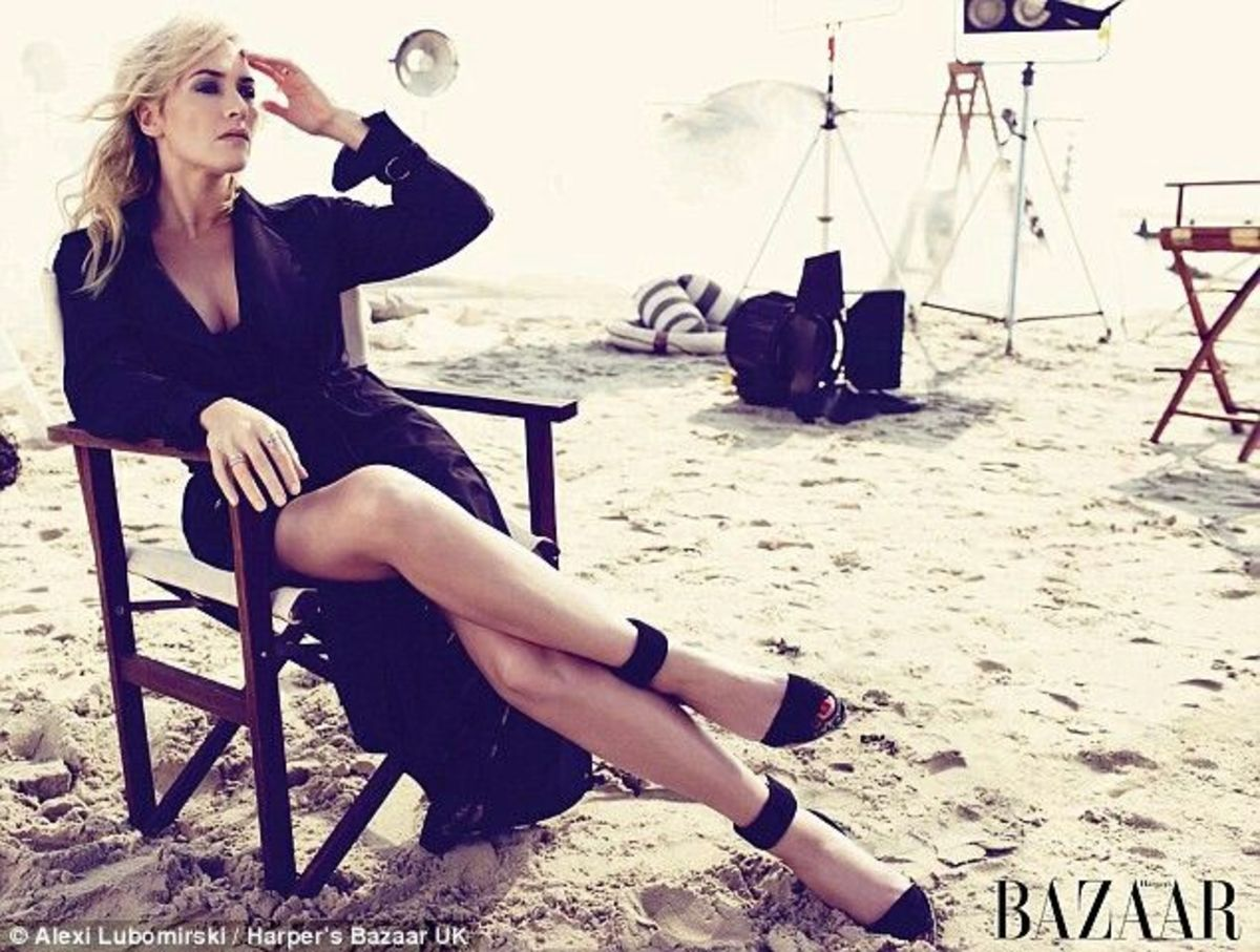 Kate Winslet in Harper's Bazaar UK March 2015