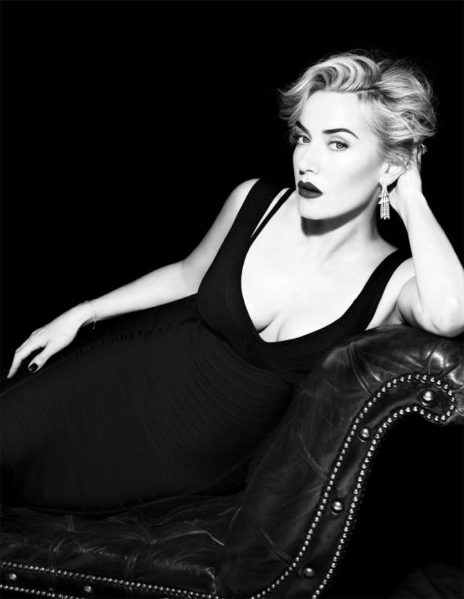Kate Winslet in Vogue Spain