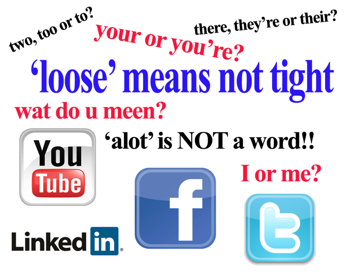 7 Reasons Why Spelling and Grammar are Important on Facebook, Twitter and other Social Media Sites