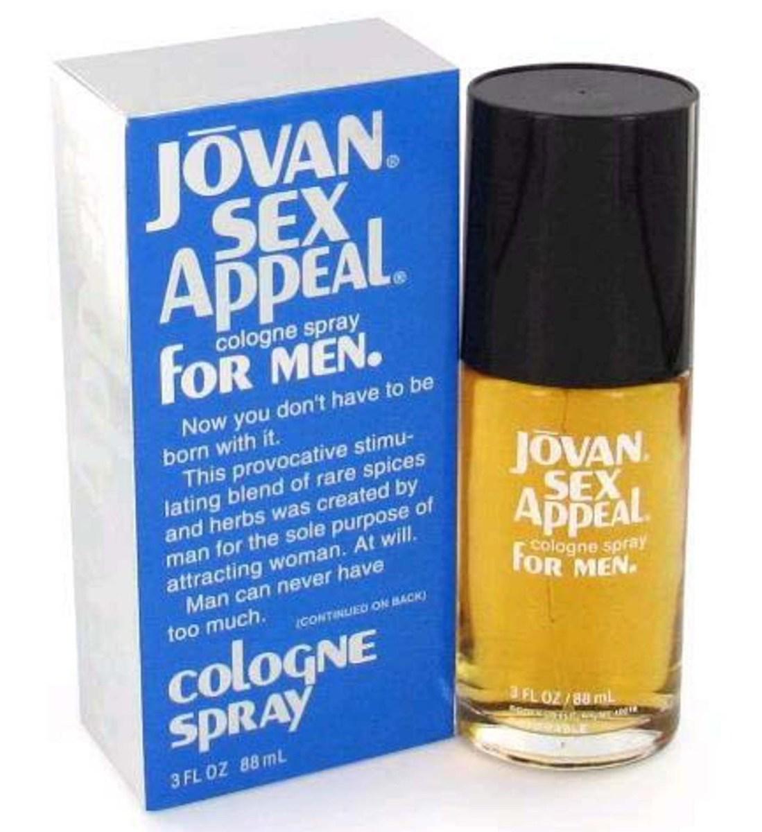 Jovan Sex Appeal for Men Fragrance