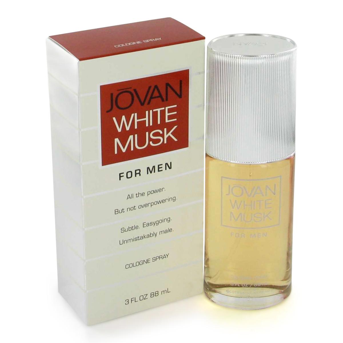 Jovan White Musk for Men Fragrance