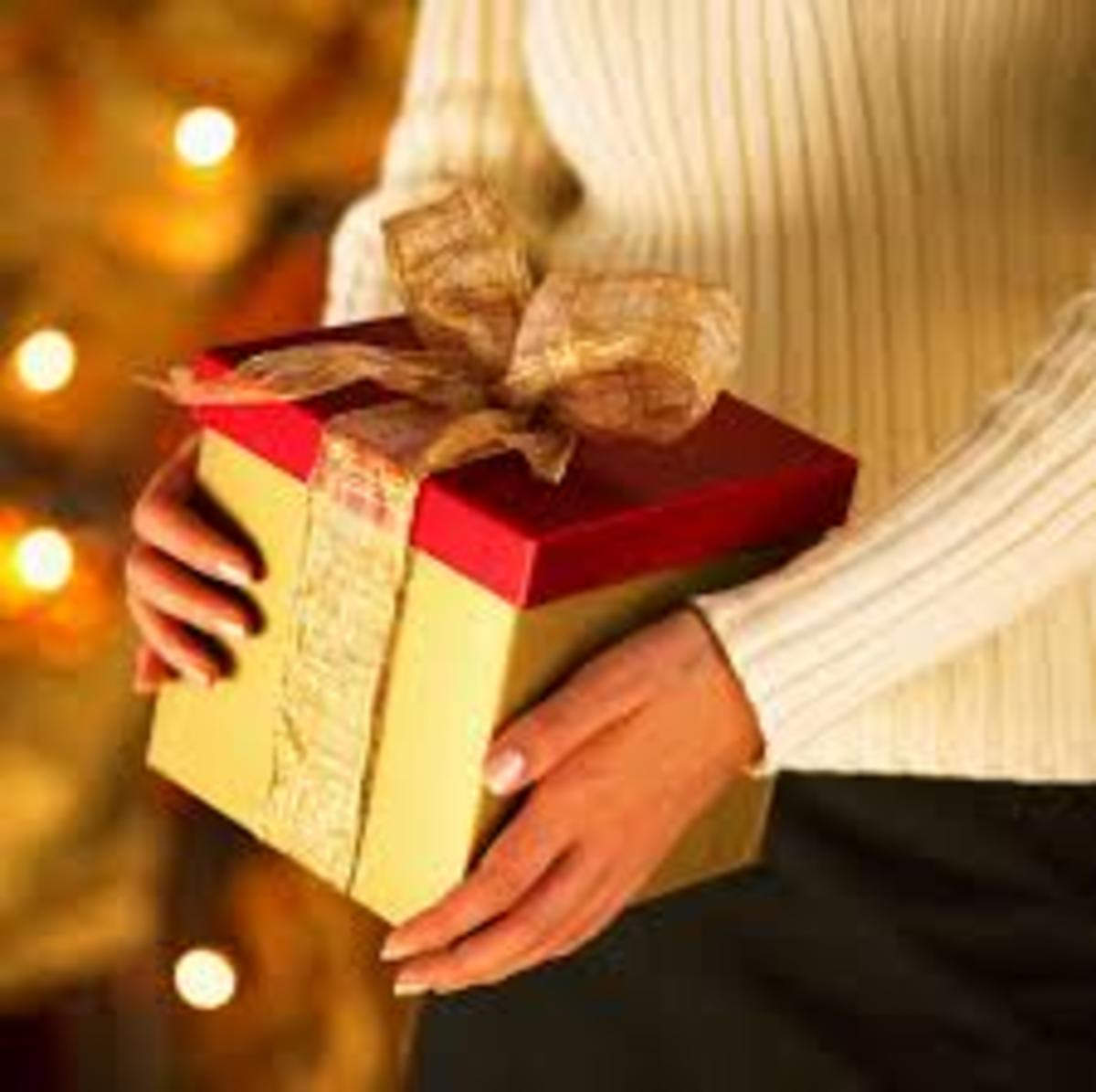 Christmas eve presents a traditional task of giving gifts
