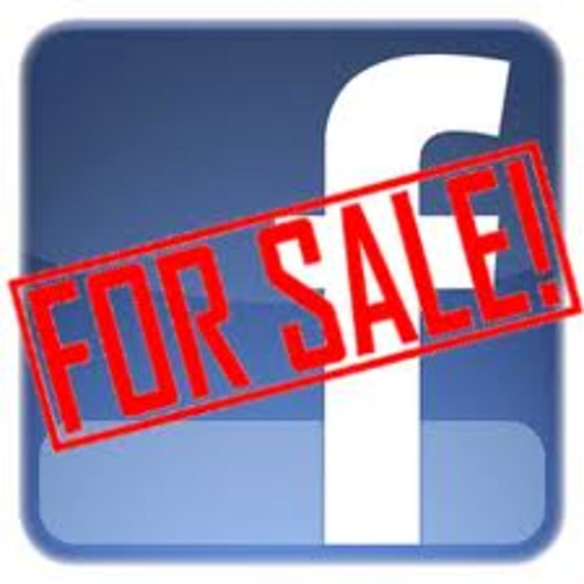Can I sell my Facebook fan page?